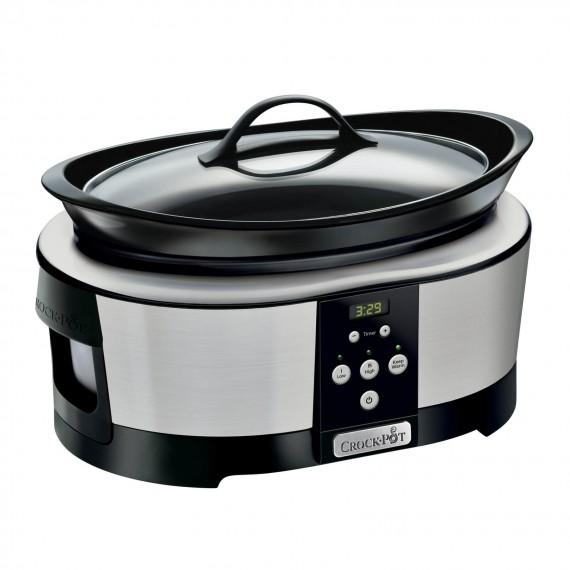Wolnowar Crock-Pot 5,7l chrom SCCPBPP605-050