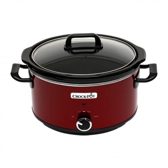 Wolnowar Crock-Pot 3,5l czerwony